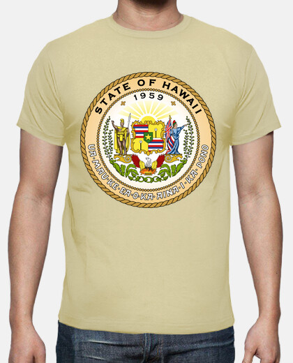 Camisetas State of Hawaii, USA