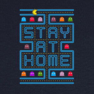 Stay at home arcade T-shirts