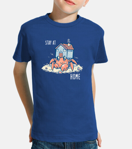 Stay at Home Hermit - Kids Shirt