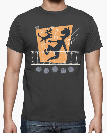 Stay home and dance t-shirt