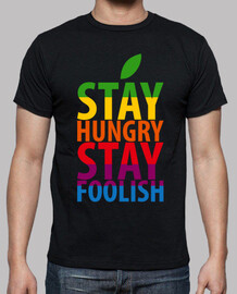 stay hungry stay foolish - steve jobs