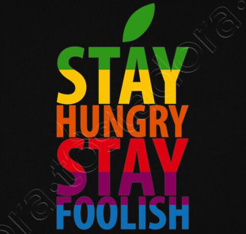 teeshirt stay hungry stay foolish steve jobs 378097
