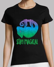 Stay Magical Levitating Chameleon