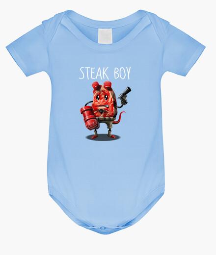 Ropa infantil Steak Boy