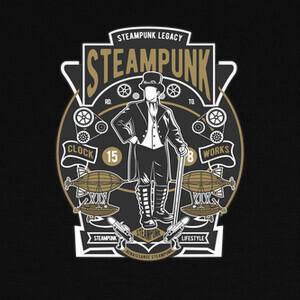 Camisetas Steampunk 15 8
