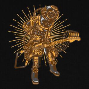 Camisetas Steampunk Rock Star
