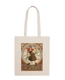 Steampunk shoulder bag woman