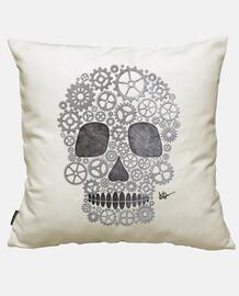 steampunk silver skull !!!