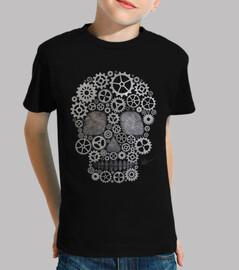steampunk skull silver !!!