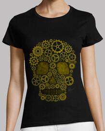 Steampunk tête de mort gold !!!