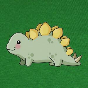 Camisetas stegosaurus bebe kawaii