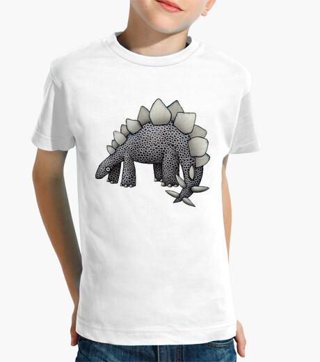 Ropa infantil stegosaurus! niños camisetas