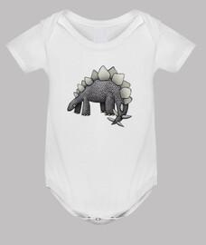 stegosaurus! niños camisetas