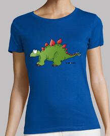 stegosaurus woman