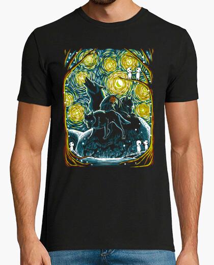 T-shirt stellato forest