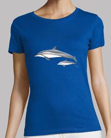 stenella (stenella longirostris) t-shirt donna - t-shirt donna