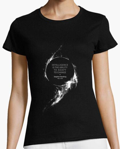 Camiseta stephen hawking - cosmología - ciencia