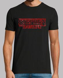 Stephen Hawking Stranger Things Style