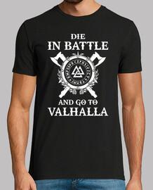 sterben in der battle und gehen sie zu valhalla (viking)