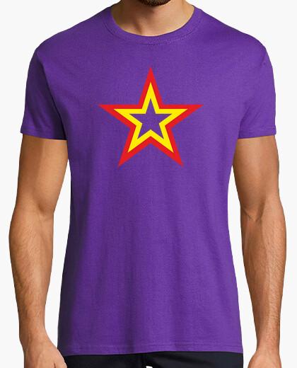 T-Shirt stern republik (lila hemden)