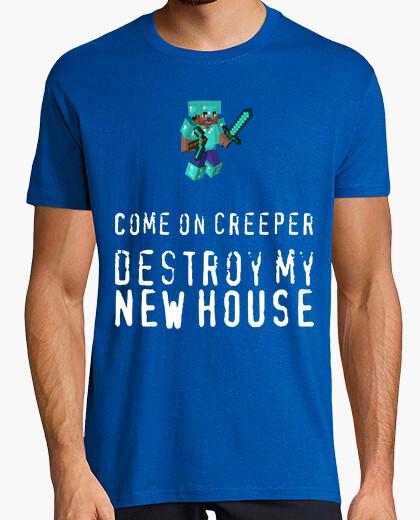 Camiseta Steve armadura