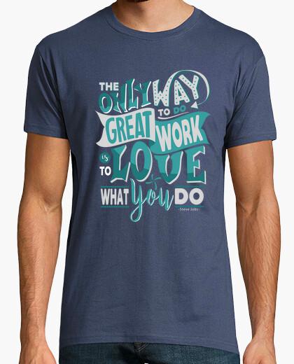 Camiseta Steve Jobs Quote