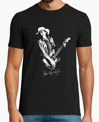 Camiseta stevie ray vaughan - guitarra-blues-roc