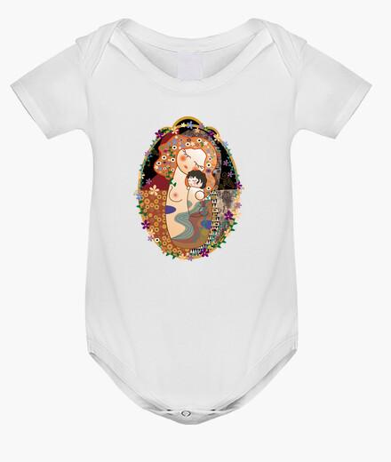 Abbigliamento bambino stile di maternità kokeshi klimt