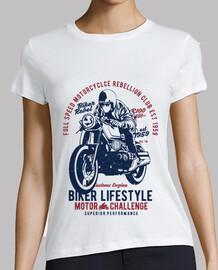 stile di vita del motociclista
