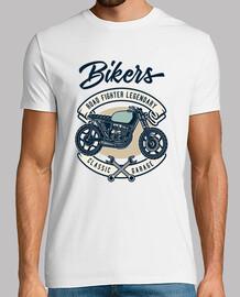 stile vintage t-shirt motociclisti garage
