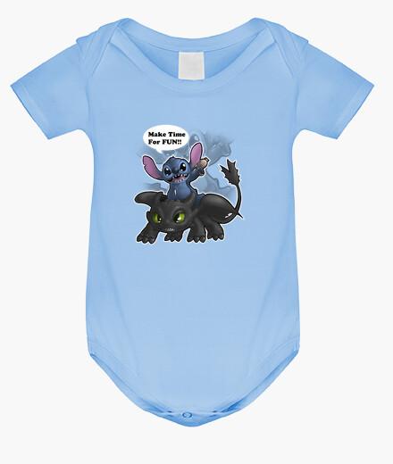 Ropa infantil Stitch y Desdentao