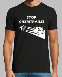 Stop Chemtrails BLACK