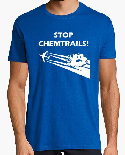 Camiseta Stop Chemtrails BLUE