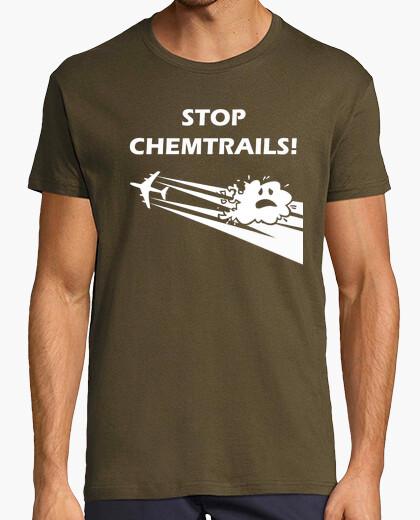 Camiseta Stop Chemtrails GREY