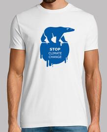 Stop climate change - oso polar