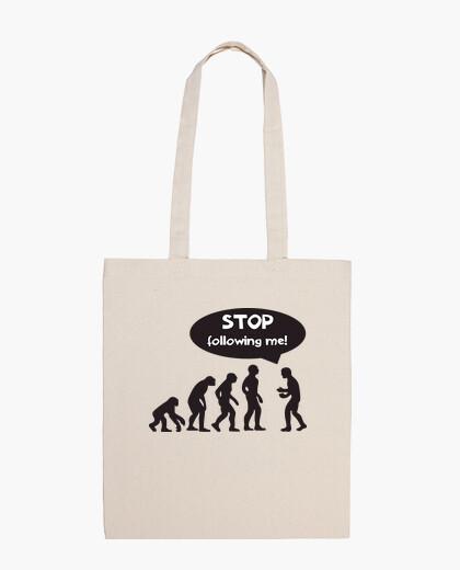 Stop following me bag