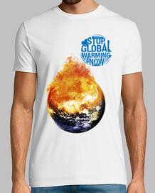 Stop Global Warming Now - Tierra (Detener el Calentamiento Global Ahora)