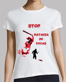 Stop Matanza de Focas (Exclusiva en Punkisetas)