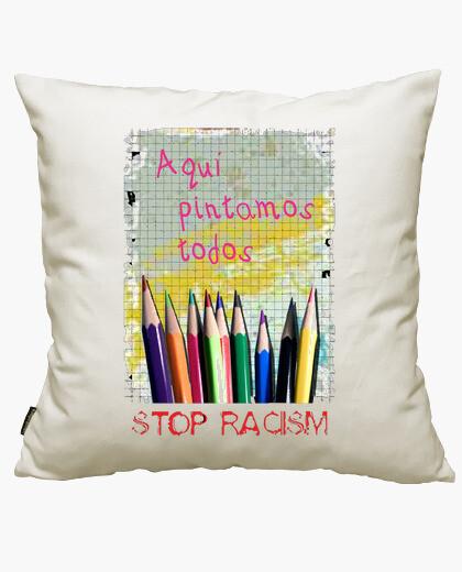 Funda cojín Stop Racism