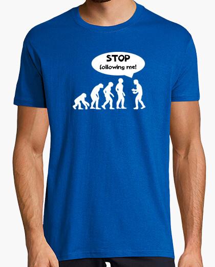 T-Shirt stoppen sie, mir zu folgen