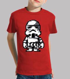 Stormtrooper 8 Bits (Camiseta Niño)