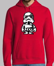 Stormtrooper 8 Bits (Sudadera)