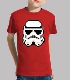 Stormtrooper 8bit (Camiseta Niño)