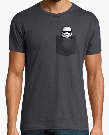 T-shirt stormtrooper pocket