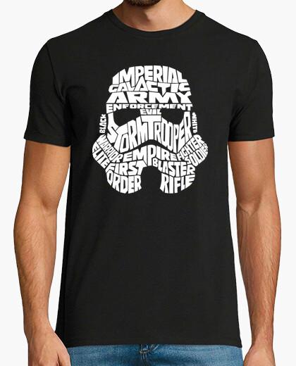 Tee-shirt Stormtrooper Typographie