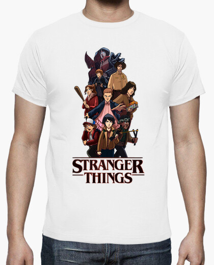 Camiseta Strager Things Wow