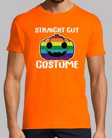 straight guy costume lgtb drôle