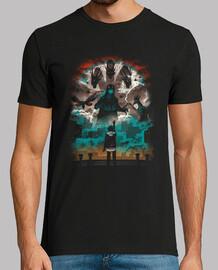 strange titans shirt mens