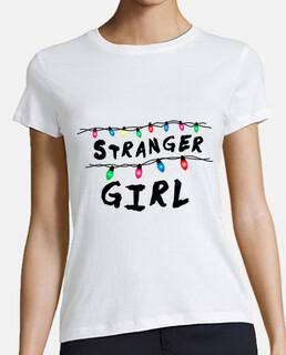 stranger girl - woman t-shirt - woman t-shirt