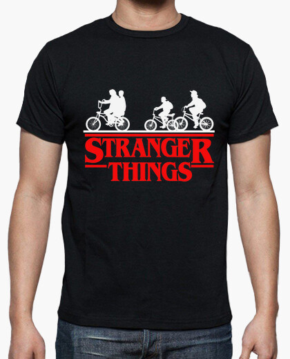 Camiseta Stranger Things - Protagonistas